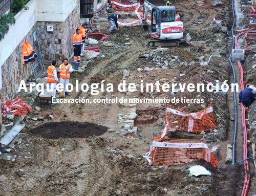 Excavación y control de movimiento de tierras