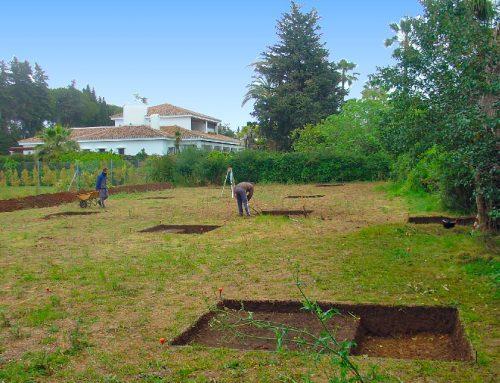 Excavación arqueológica en calle 8, parcela 108B de Guadalmina baja, San Pedro Alcántara (Marbella, Málaga)